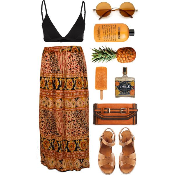 Balinese by cigerett on Polyvore featuring GUESS, A.P.C., Melie Bianco and philosophy