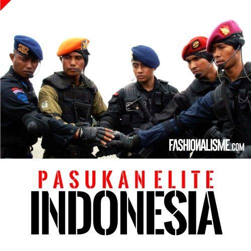 9 Pasukan Elite Militer Indonesia | Fashionalisme.com