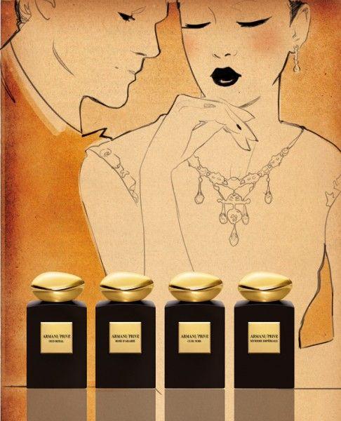 Giorgio #Armani Privé fragrances