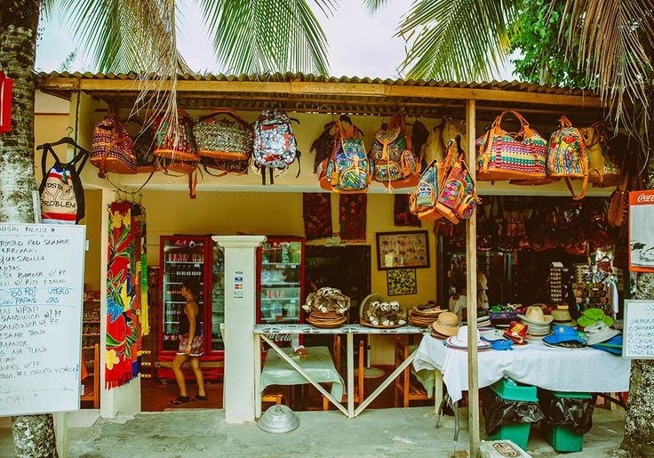 "For the best souvenirs in Jaco, Costa Rica hit up this spot: ""Manuel Antonio's streets are tipping with kiosks and shops that reek of all things souvenir. From bags and stuffed sloths to bracelets and woodwork, you'll find what you're looking for (and probably something you aren't!)."" (Kylie Turley)"
