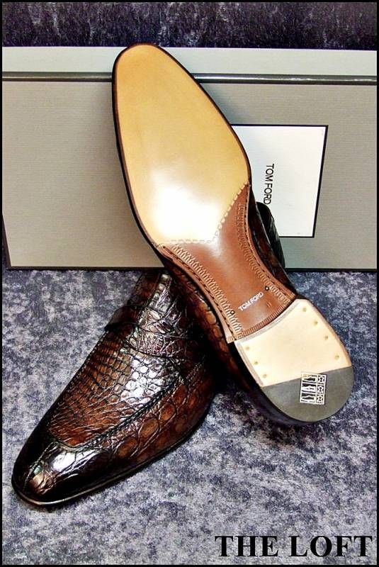 Tom Ford Crocodile Shoes