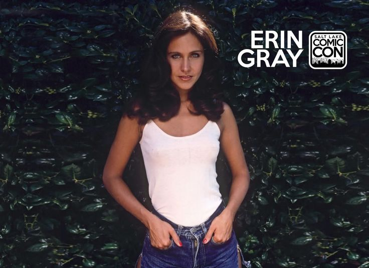 Your ultimate 80s crush, Erin Gray, will be joining us at Salt Lake Comic Con 2014! CLICK to watch her video highlights
