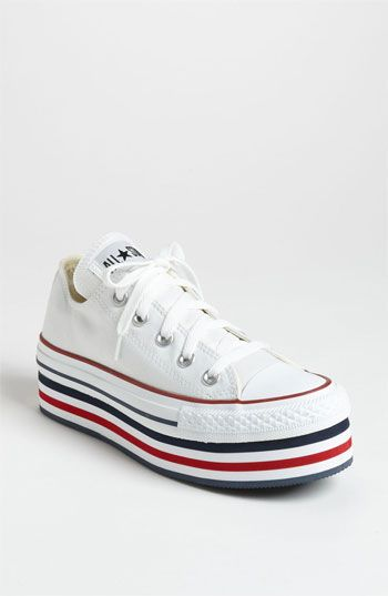 Hmmm... First Wedge Sneakers, Now Platforms Again---Converse Chuck Taylor® Platform Sneaker (Women) available at Nordstrom
