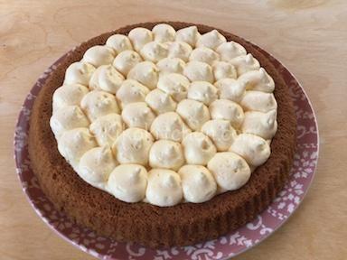 crostata morbida con crema al mascarpone