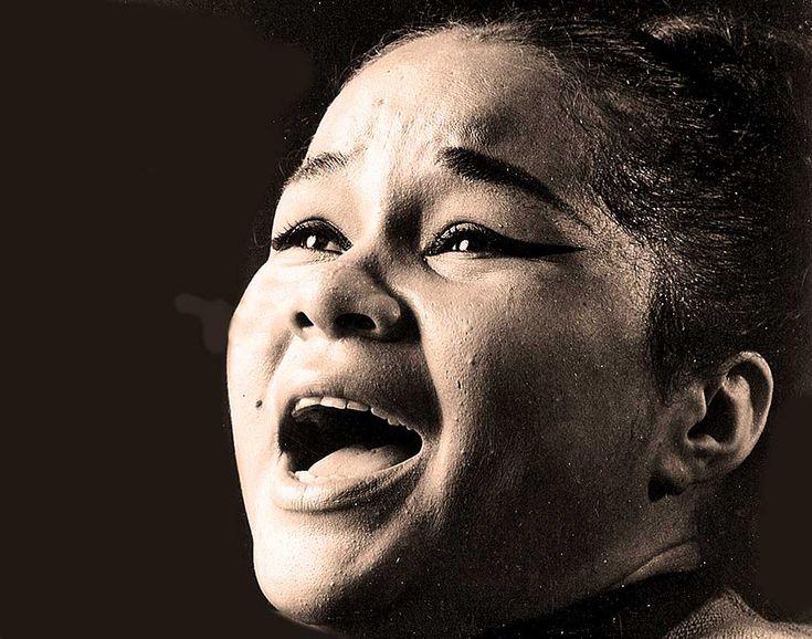 The unforgettable Etta James.