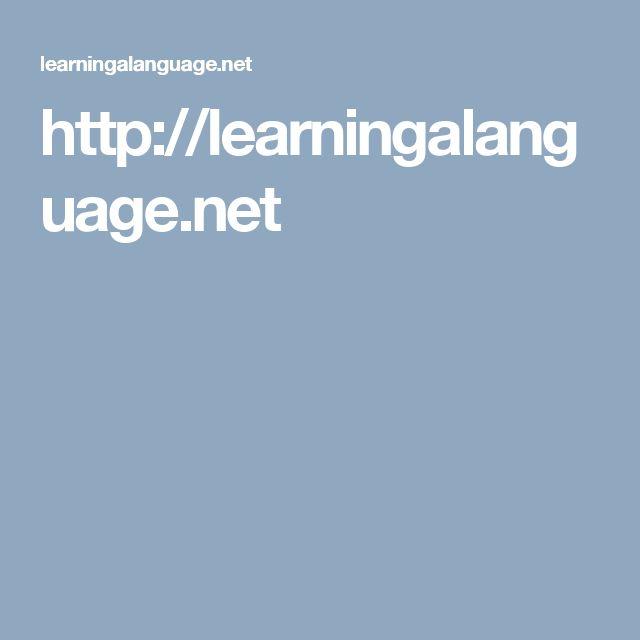 http://learningalanguage.net