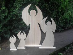 Engel aus Holz - #OBI Selbstgemacht! Blog. Selbstbauanleitung für jedermann. #DIY #xmas2013