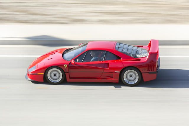 Offered from the Tony Hart Collection,1990 FERRARI F40  Chassis no. ZFFMN34A5L0087200 Engine no. 24145