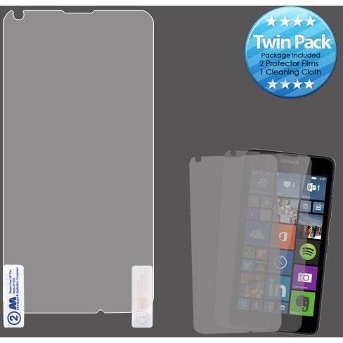 MYBAT Screen Protector for Microsoft Lumia 640 - Clear (Twin Pack)