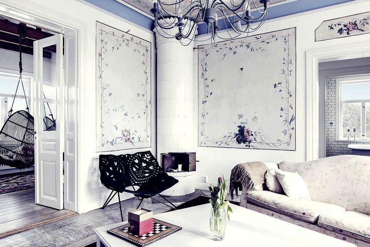 """Spröjsade fönster, burspråk, Carl Larsson och ett vackrare hem för alla. Här är detaljerna kring den tidens """"ljust och fräscht""""!"""