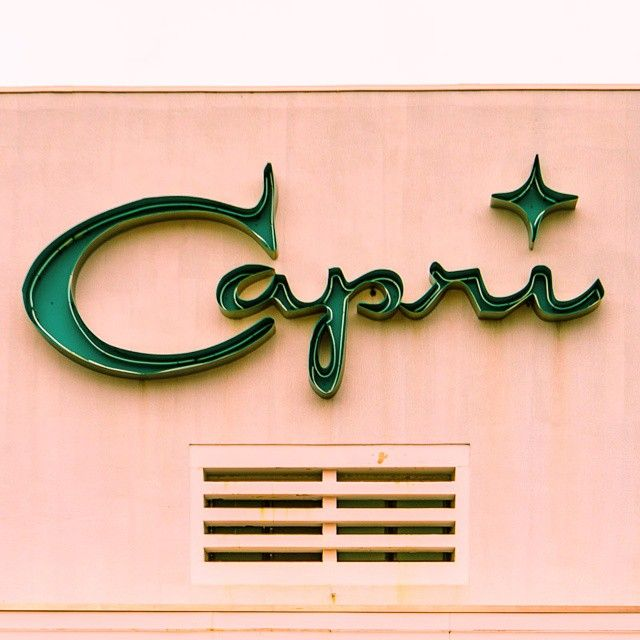 love this font for Capri stationary suite - inspiration