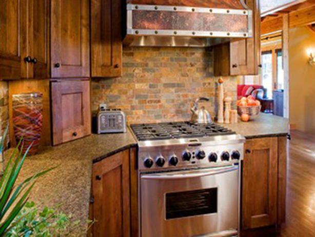 rustic brick kitchen counters - photo #13