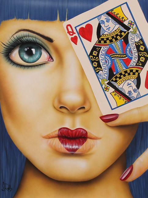 Queen of Hearts | Scott Rohlfs Art