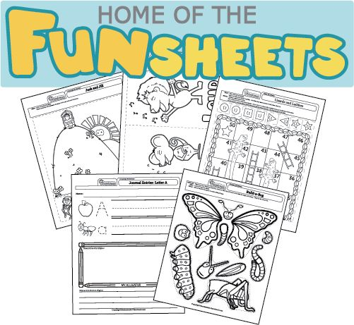 Creative, hands-on preschool worksheets, are just what ...