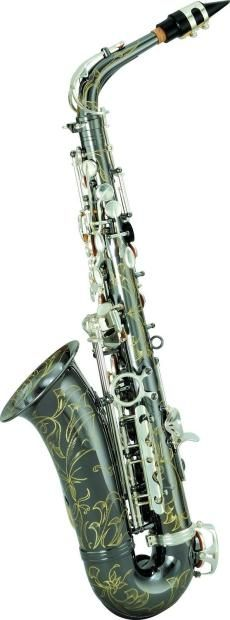 Chateau Alto Saxophone Student Model Black Body Silver Key VCH-222BSY2                            Product Features:High Quality Student ModelBlack Body Silver KeyKey: B-flat High:F-sharp Low: B-flatHigh F-sharp keyLuxuriant&am...