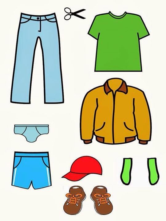 Учимся одеваться