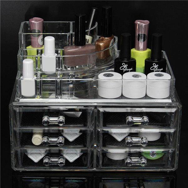 amazones gadgets 6 Drawer Clear Acrylic Make Up Organizer Drawers Cosmetic Display Holder Case: Bid: 30,26€ Buynow Price 30,26€ Remaining…