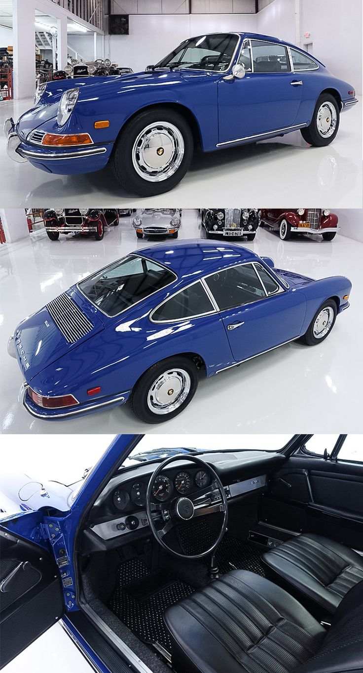 Restored 1968 Porsche 912 Coupe by Karmann