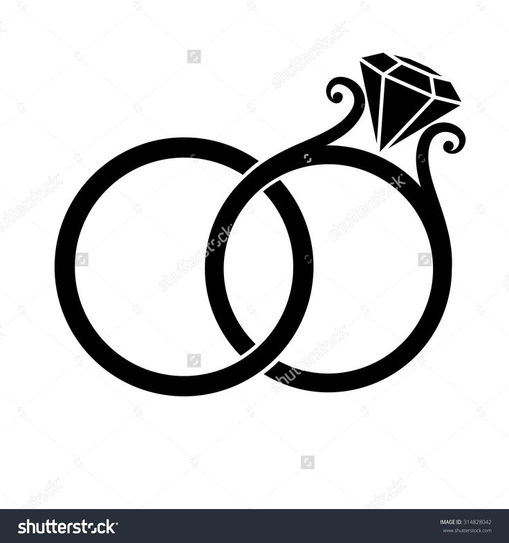 Wedding Band Clipart Black And White