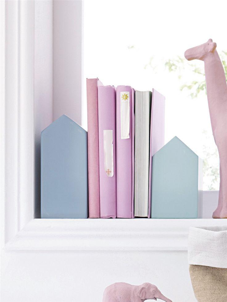 serre livres maison par lot de 2 la maison vetement et. Black Bedroom Furniture Sets. Home Design Ideas