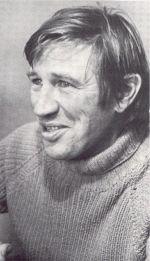 Don Binney, photo by Tom Turner