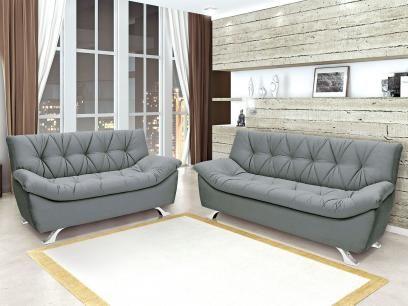 Sofá 2 Lugares Suede Palatino - Linoforte com as melhores condições você encontra no Magazine Daluzia. Confira!