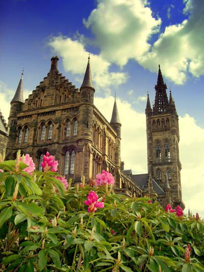 Glasgow University, Scotland.  the fourth oldest University in the English speaking world, established in 1451