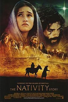 'The Nativity Story' (2006) American film that focuses on the period in Mary and Joseph's life where they journeyed to Bethlehem for the birth of Jesus. It was the first film to premiere in Vatican City.