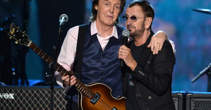Paul McCartney and Ringo Starr Team Again as Eurythmics, Dave Grohl Honor the Beatles - Rolling Stone