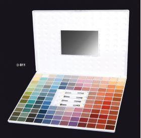 ELIXIR Κασετίνα Σκιών 128 Χρώματα Long Lasting No 811 Κασετίνα με 128 σκιές μεγάλης διαρκείας με χρώματα που καλύπτουν όλες τις ανάγκες και όλες τις εποχές. Η συσκευασία περιέχει και 4 πινελάκια σκιών. Τιμή €22.00