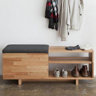 Modern Entry + Hall Storage | AllModern