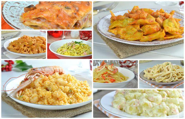 Primi+piatti+per+la+Vigilia+di+Natale...una raccolta di primi incredibilmente gustosi