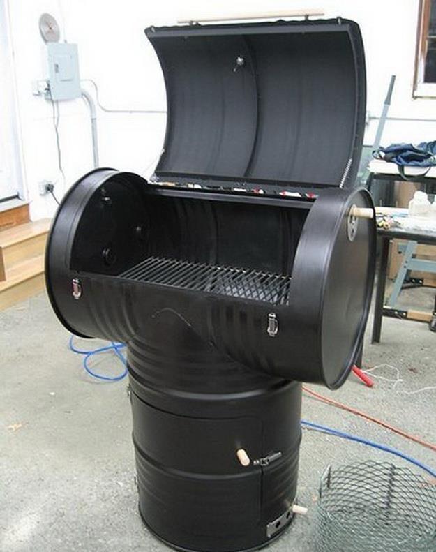 die besten 17 ideen zu grill selbst bauen lfass auf. Black Bedroom Furniture Sets. Home Design Ideas