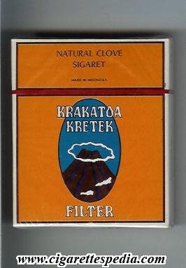 Krakatoa Kretek Filter - Indonesia