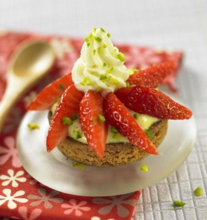 Tartelettes aux fraises craquantes