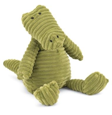 Cordy Roy Gator Medium. I got the Cordy Roy Rhino for Ray, and it is awesome. Washable and durable. Ray  doesn't go to sleep without it. So, I'm getting the Alligator for Amos.