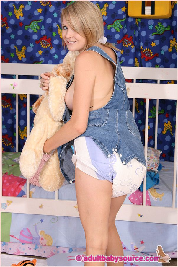 Adult Baby Overalls 63