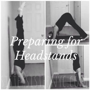 #WellnessWednesday: Preparing for Headstands