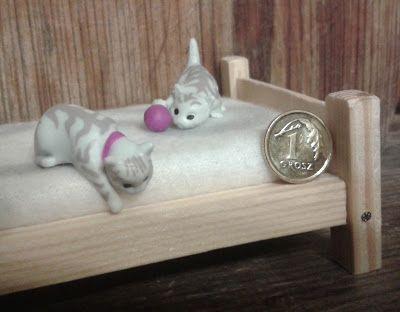 Czar miniatur: Miniaturowe kotki - repaint