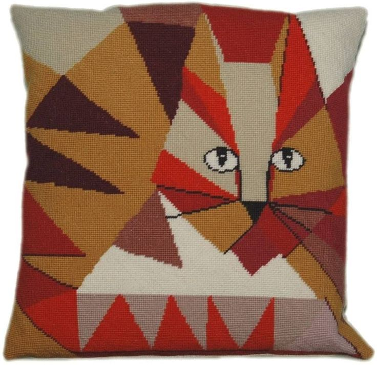 Jazzy Cat Tapestry Kit - £59.00 on Past Impressions | by Cleopatra's Needle
