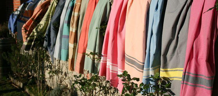 os presentamos nuestra nueva colección spring-summer 2014 de foutas de algodón. Son también conocidos como Hammam, la toalla de baño árabe pero con diseños europeos.