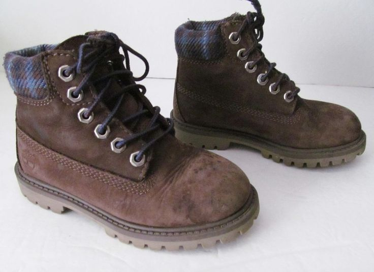 timberland toddler boots size 10