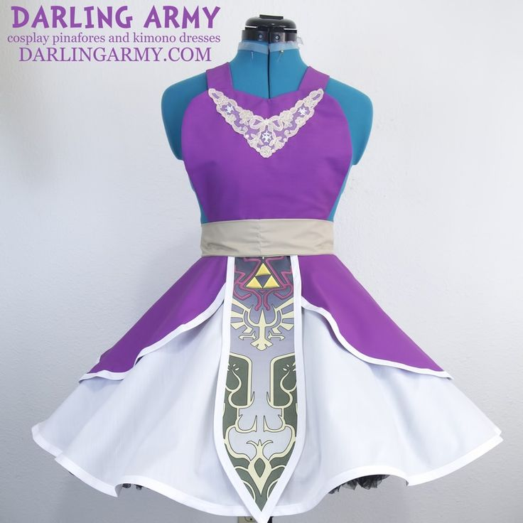 """Hylian Princess Twilight Cosplay Pinafore {2015} by Darling Army (Amanda Marin, USA) """"Shadow and Light are two sides of the same coin"""""""