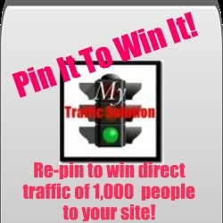 Pin It To Win It!!   Thanks :)