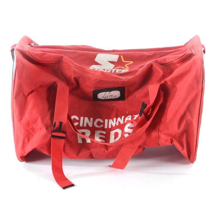 Chris Sabo Equipment Bag, Cincinnati Reds, baseball, vintage, MLB, game used, one of a kind
