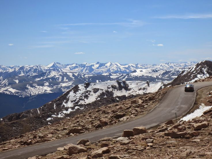 The Travelling Lindfields: Twice as high as Kosciuszko - Mt Evans, The Highes...