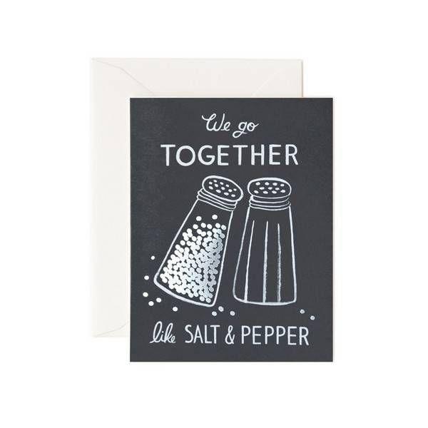 Rifle Paper Co. Wenskaart Salt & Pepper