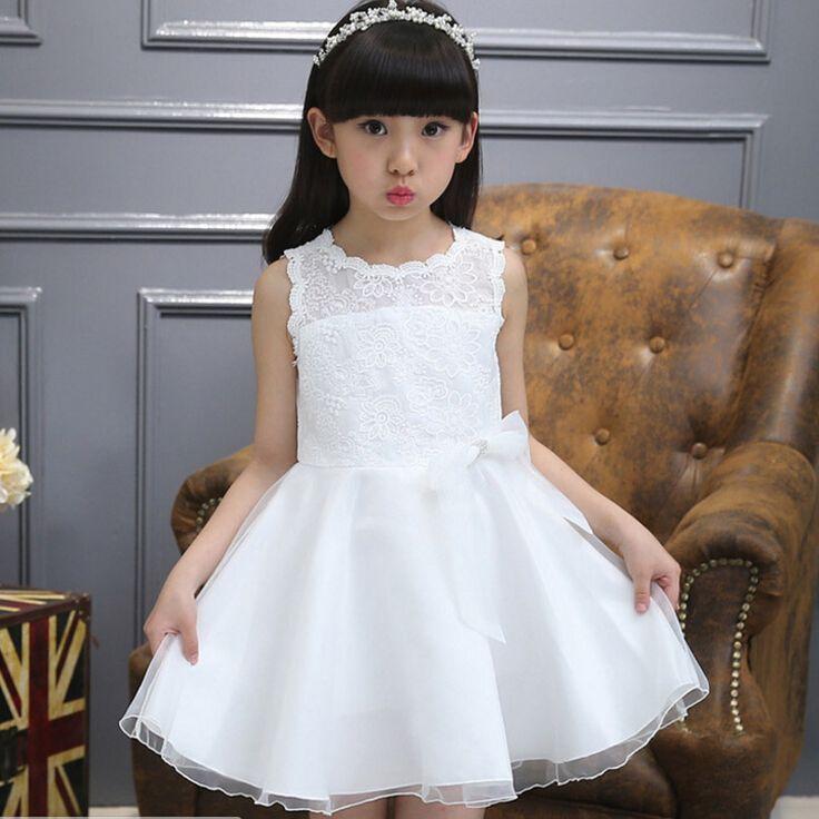 Детские летние платья кружева детские Товары для детей белый принцесса пачки платье для девочек дизайнер платья свадебные