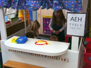 Dramatic Play Center Ideas- great list of ideas, incredible printables, love the blog