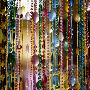 beaded curtain - always wanted some of these!